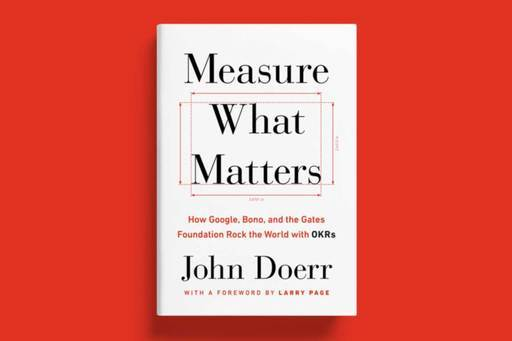 Image for article John Doerr's Measure What Matters is available to order