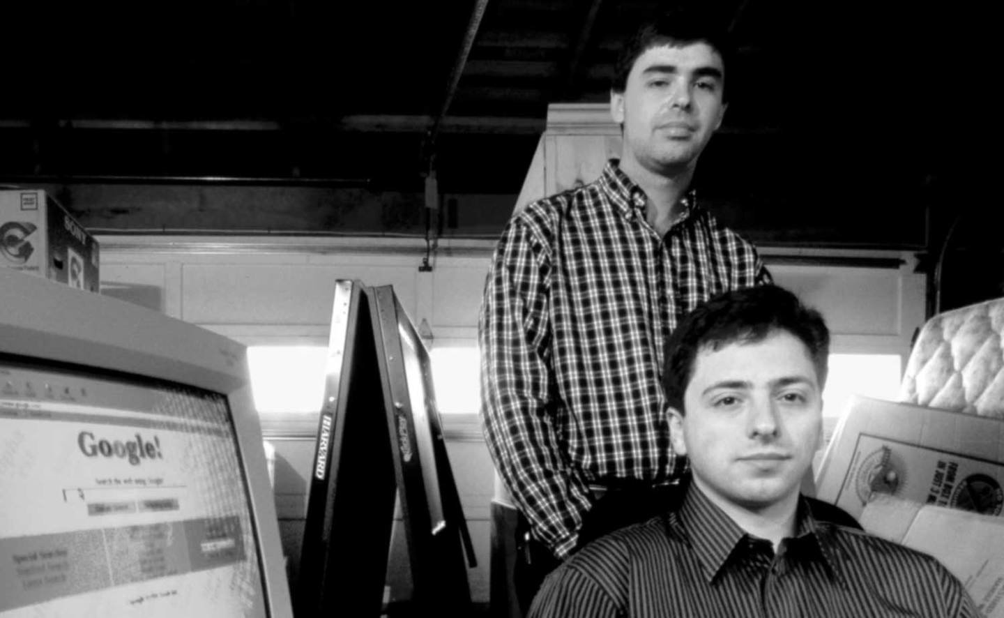 Founders: Larry Page and Sergey Brin
