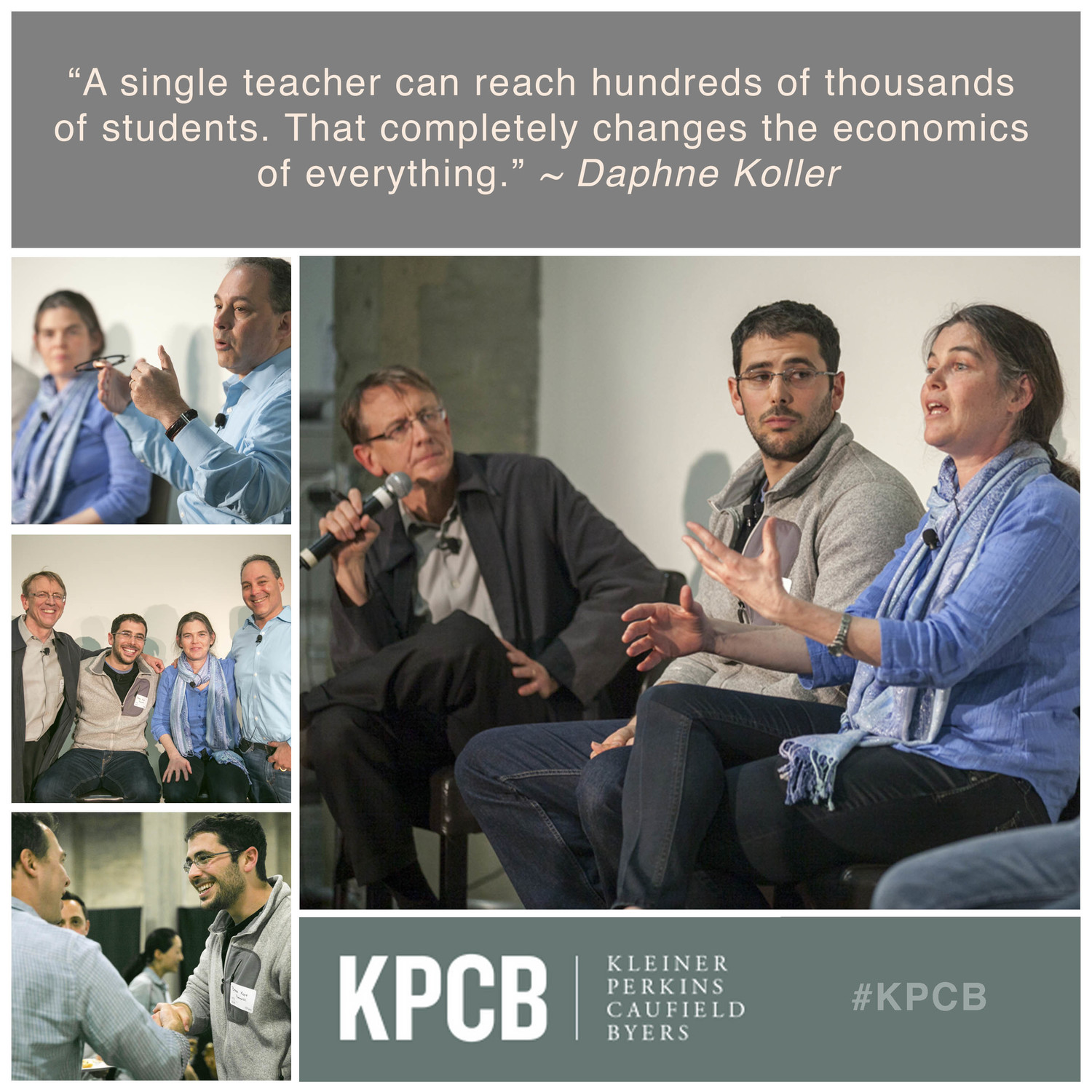 KPCB Education Leadership Salon