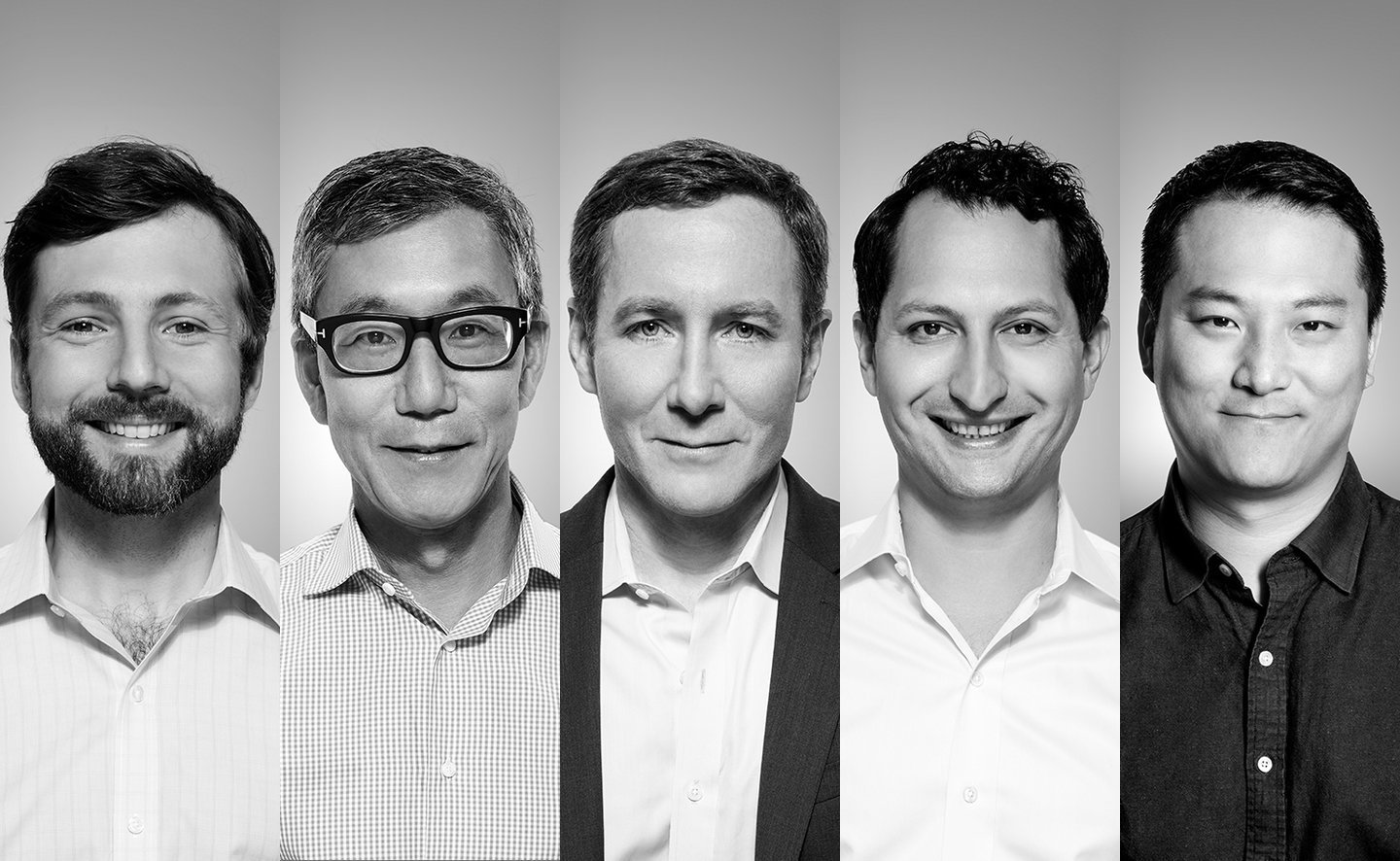 Founders: Graham Stanton, Hisao Kushi, John Foley, Tom Cortese, Yony Feng