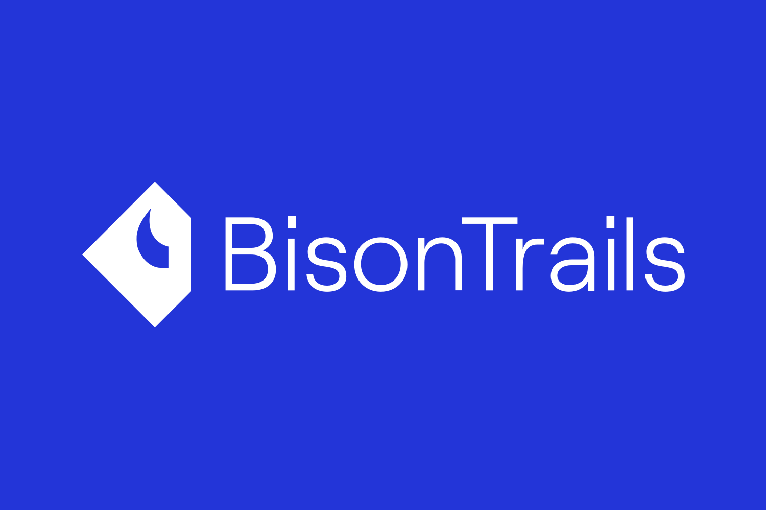 Image for article Welcome Bison Trails